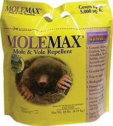 Bonide 692150 Mole Max and Vole Repellent Granules