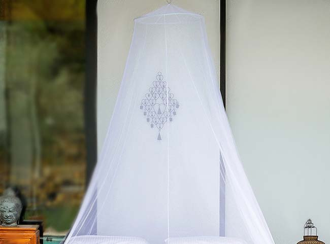 Premium Mosquito Net for Double Bed by EVEN Naturals