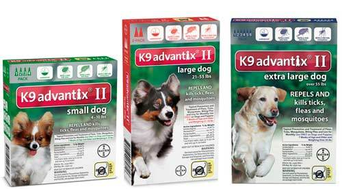 Bayer K9 Advantix Dog Flea Drops