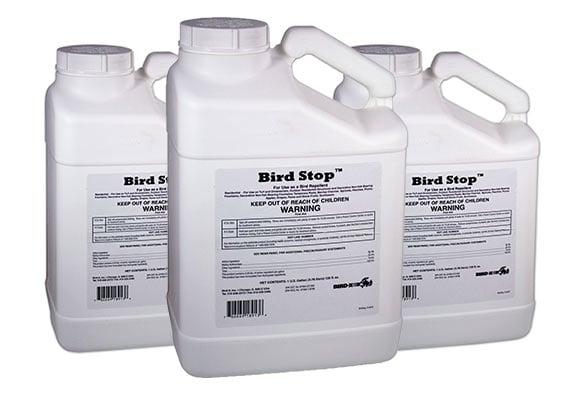 Bird X Bird Stop Liquid Deterrent: photo