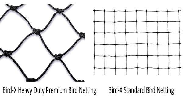 Standard and Premium Bird Nettings: photo