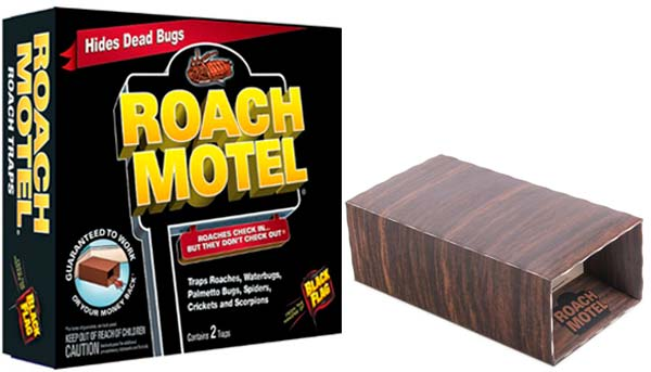 Black Flag Roach Motel Insect Trap: photo