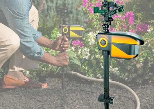 ScareCrow Motion Activated Sprinkler: photo