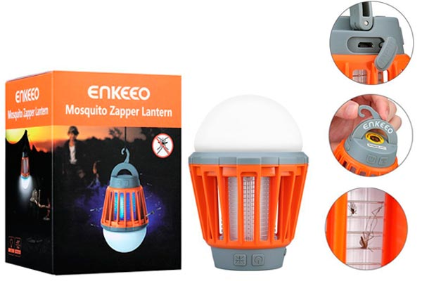 Enkeeo Camping Light Mosquito Killer: photo