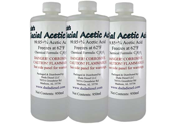 Ácido Acético Herbicida Glacial De Grado Alimentario: foto