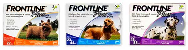 Merial Frontline Plus Flea and Tick Control