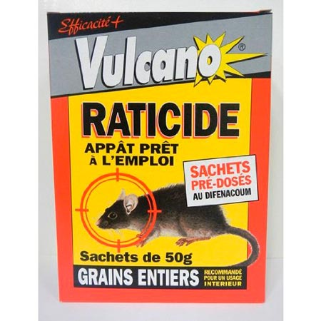 Raticide Souricide Grain: photo