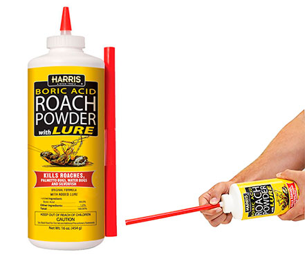 HARRIS Boric Acid Roach and Silverfish Killer