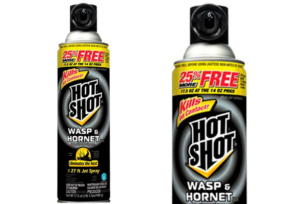 Wasp & Hornet Spray Killer Hot Shot: foto