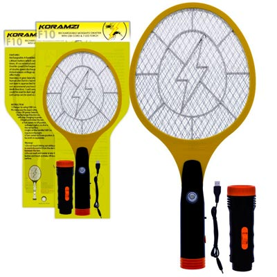 Koramzi Tennis Racket Bug Zapper: photo