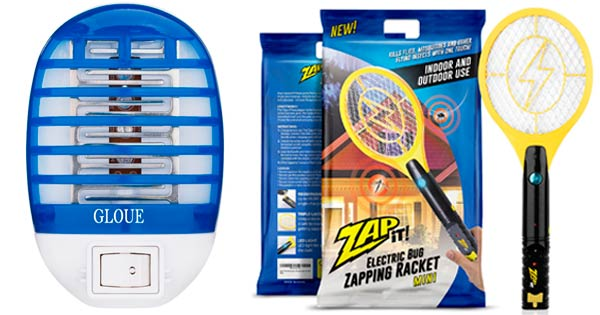 Mosquito Zappers - Gloue & Volt Racket: photo