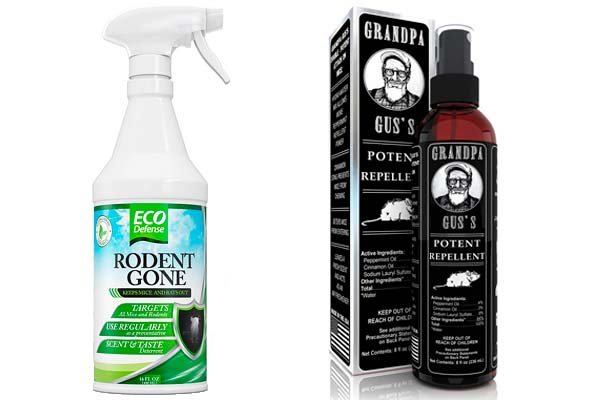 Natural Oust Mouse Repellent Spray Reviews