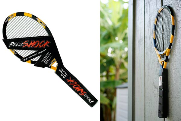 PreciShock Bug Zapper Racket: photo