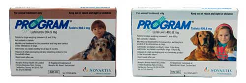 Program Oral Treatment for Dogs