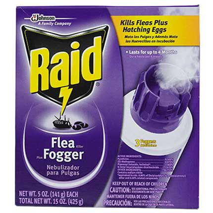 How to kill fleas quickly top 12 best flea sprays traps and raid flea fogger 3 pack ccuart Images