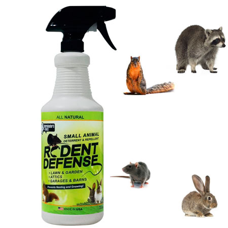 Defense Spray for racoons: photo