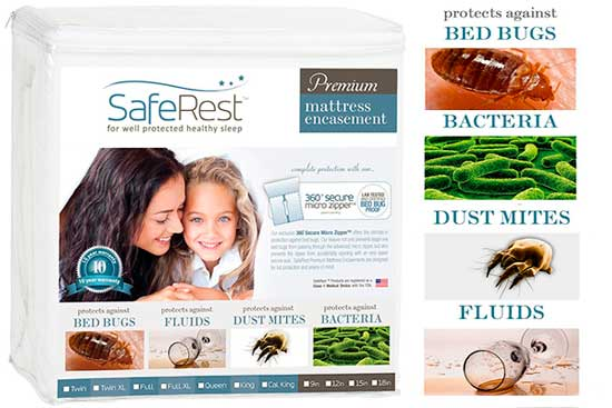 dust mite proof mattress protector: photo
