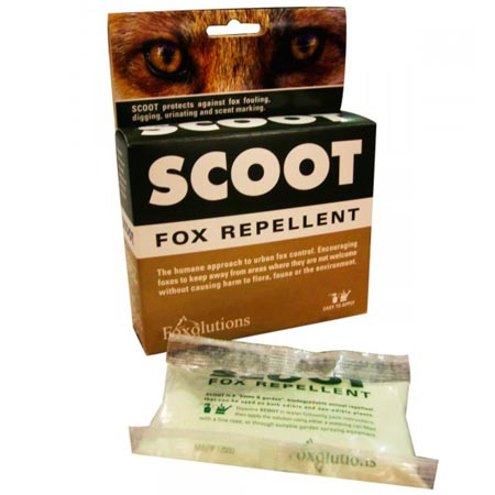 Scoot Fox Repellent: photo