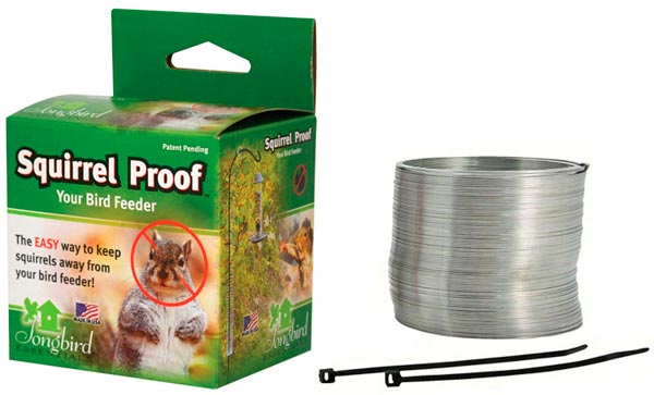 Squirrel Proof Spring Device: photo