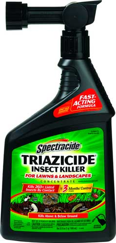 insect lawn spectracide killer control spray lawns triazicide concentrate bug mole pest crickets killers rid landscapes hg mosquito insecticides treatment