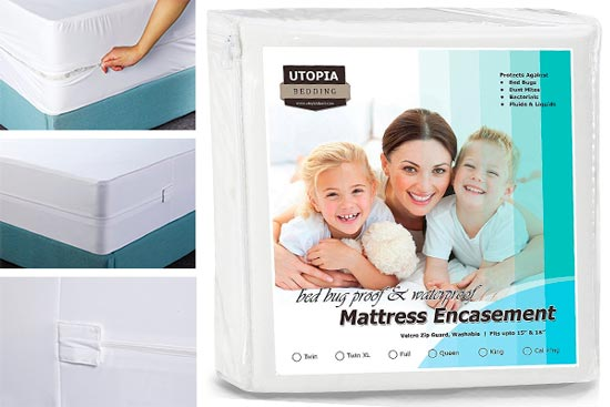Utopia Bedding Bed Bug Encasement: photo
