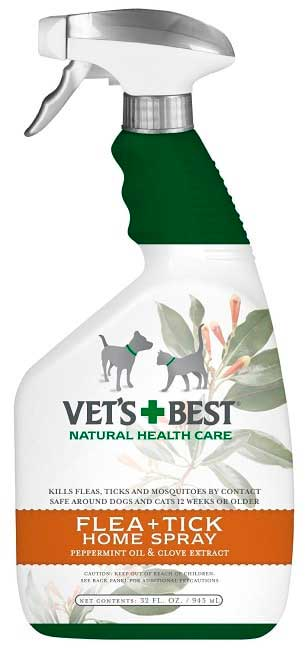 Vet's Best Flea & Tick Pet & Home Spray for cats