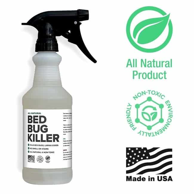 Spray natural mata chinches de cama por Killer Green: foto