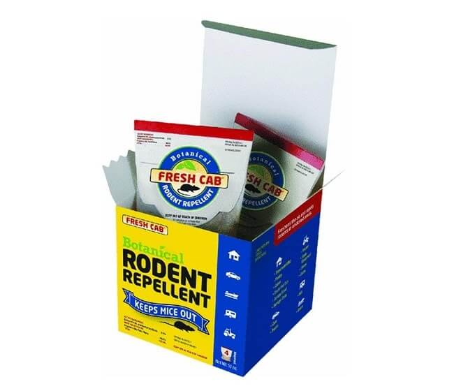 Fresh Cab Rodent Repellent (4 Pouch Box)