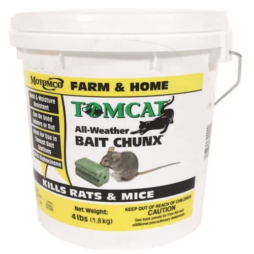 Tomcat All Weather Bait Chunx, 4 lb