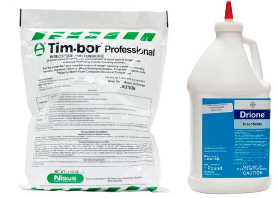 Tim-bor Professional Insecticide and Drion Dust: photo