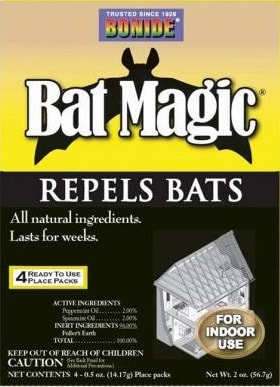 How To Get Rid Of Bats Repellents And Ways