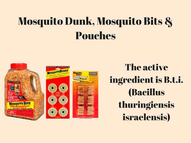 How to get rid of mosquitoes 7 tried and true ways for Mosquito dunks amazon