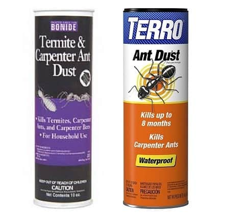 carpenter bee dust killers: photo