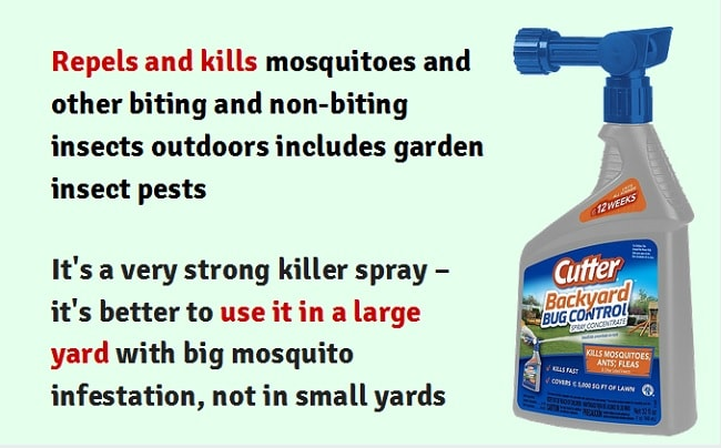 cutter backyard bug control 32 oz ready to spray hose end insect