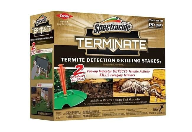 Spectracide Terminate Termite Detection & Killing Stakes: photo