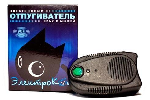 """Отпугиватель мышей и крыс """"ЭлектроКот Классик"""": фото"""