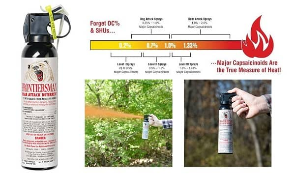 Bear Protection With Frontiersman Bear Spray: TOP-5 Best Bear Sprays And Repellents