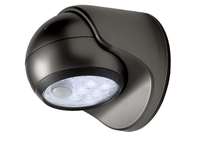 Fulcrum 20031-101 Motion Sensor LED Porch Light