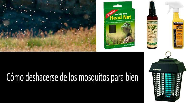 Cu00f3mo deshacerse de los mosquitos para bien