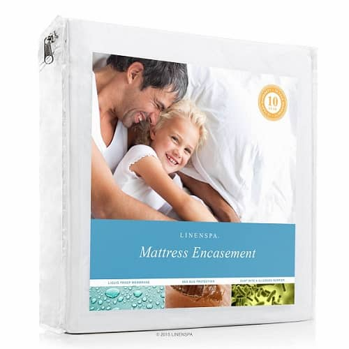 linenspa bed bug mattress cover