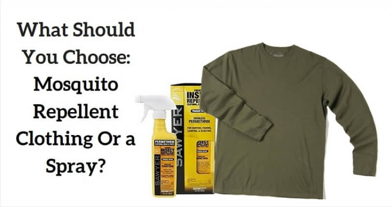 Does mosquito repellent clothing help to protect from insects?