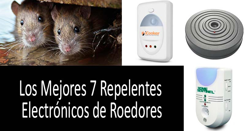 Los Mejores 7 Repelentes Electrónicos de Roedores: ver más