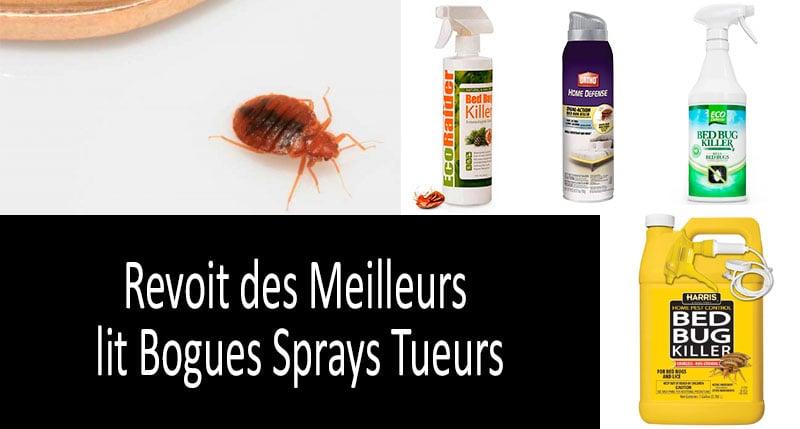 Haut 5 Bogues Lit Sprays Tueur D Insectes Sucant Sang Quel Lit