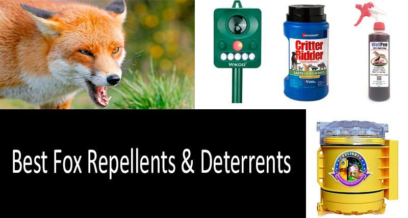 Fox Repellents: view more