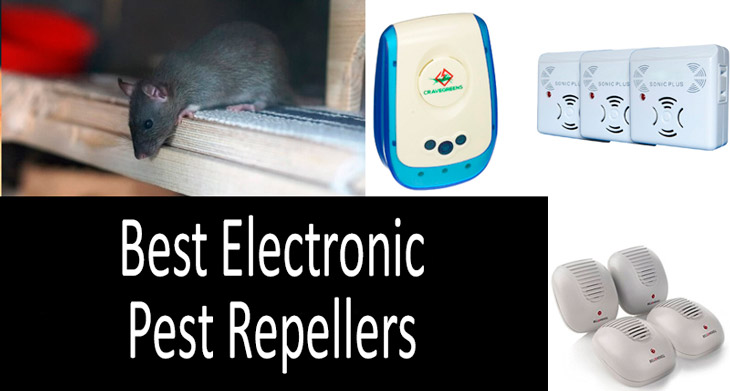 Best Electronic Pest Repellers min: view more