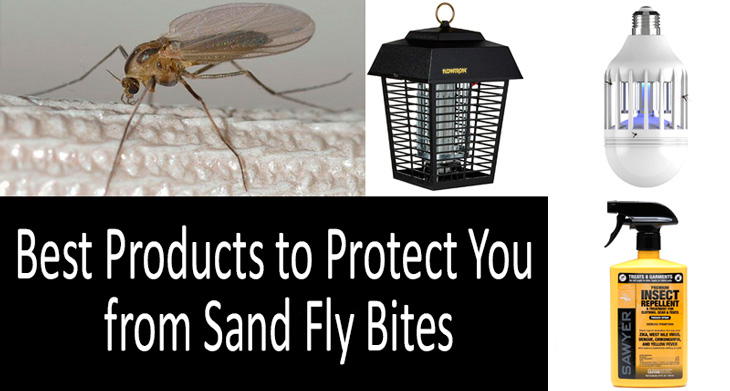 best sand fly control products: photo