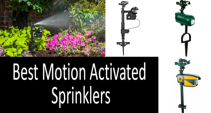Best Motion Activated Sprinklers min: view more
