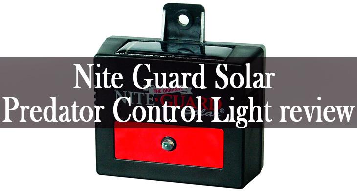 Nite Guard Solar Predator Control Light min: view more