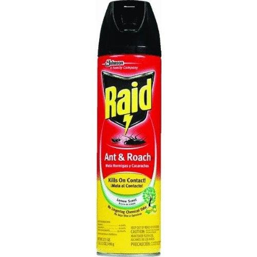Спрей от тараканов Raid: фото