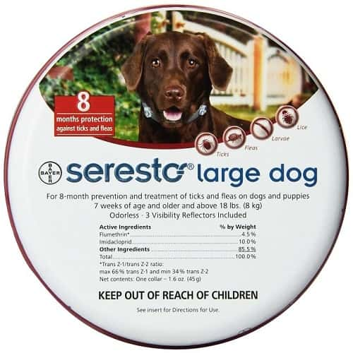 Bayer Seresto Flea and Tick Colla